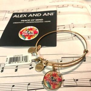 NEW⭐️Alex and Ani-Create Peace of Mind Bracelet